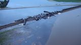 Cleanup of oil from derailment in Iowa begins