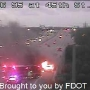 Car fire slows I-95 in Palm Beach