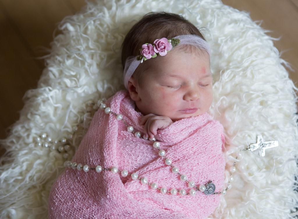 Victoria, our Baby of the Day for March 18, 2016. Photo courtesy of Palms West Hospital and Bella Baby Photography