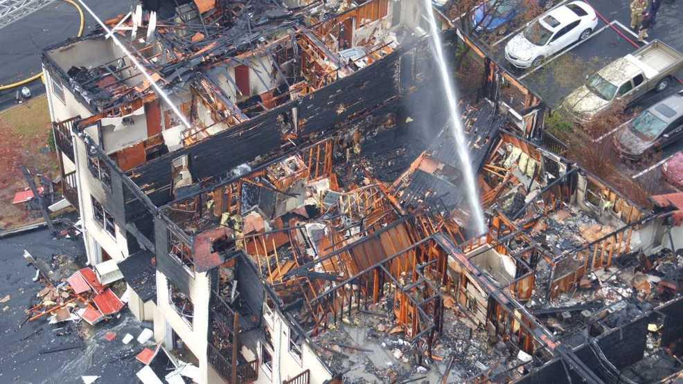 Apartment fire destroys roof, displaces families in Dalton ...