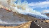 Wildfires burning near Stawberry Reservoir, threatening structures