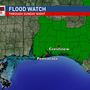 Flood threat continues into Sunday night