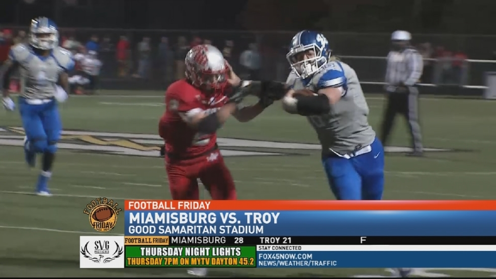 Miamisburg rallies to defeat Troy 28-21