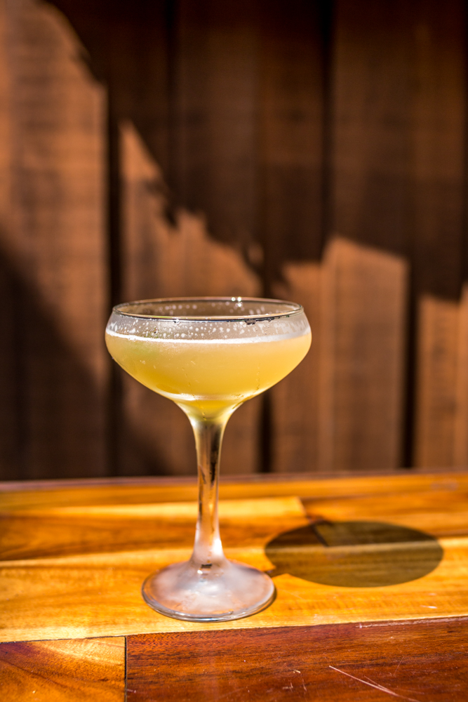 Pineapple daiquiri made with Plantation pineapple rum / Image: Catherine Viox // Published: 6.12.19
