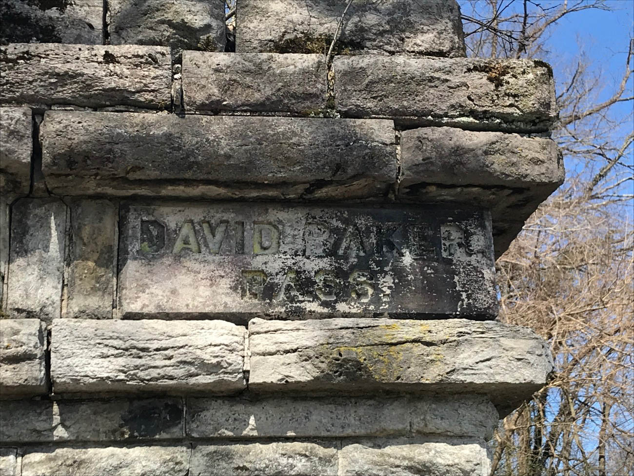 What is now Martin Drive was once called Baker's Pass—a brick road intended for carriages that ran atop the retaining wall. It was named after David Baker, the public official who encouraged the reservoir project. / Image: Amy Bauer // Published: 4.12.19
