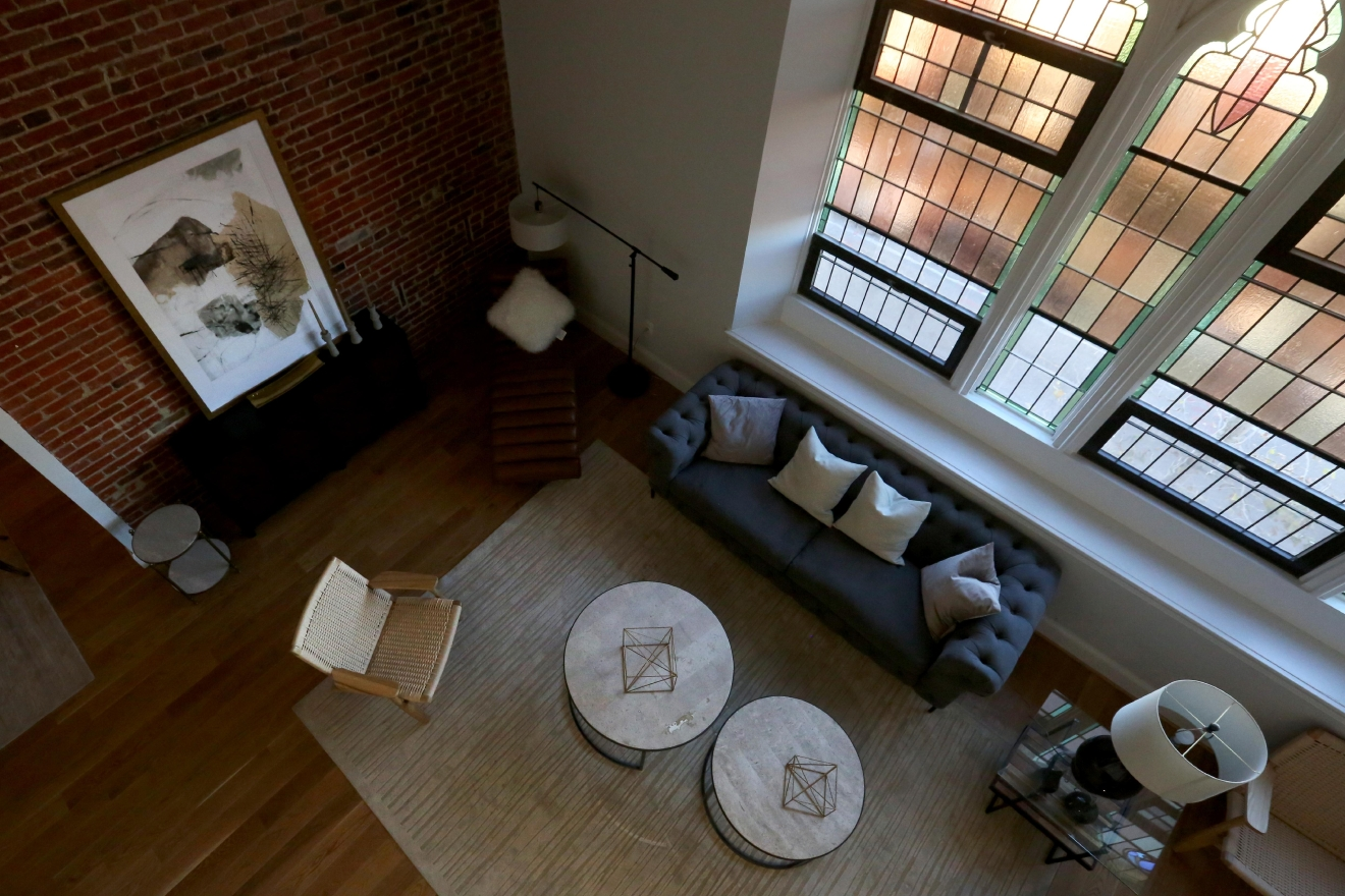 The $1.7 million penthouse is still on the market. (Amanda Andrade-Rhoades/DC Refined)