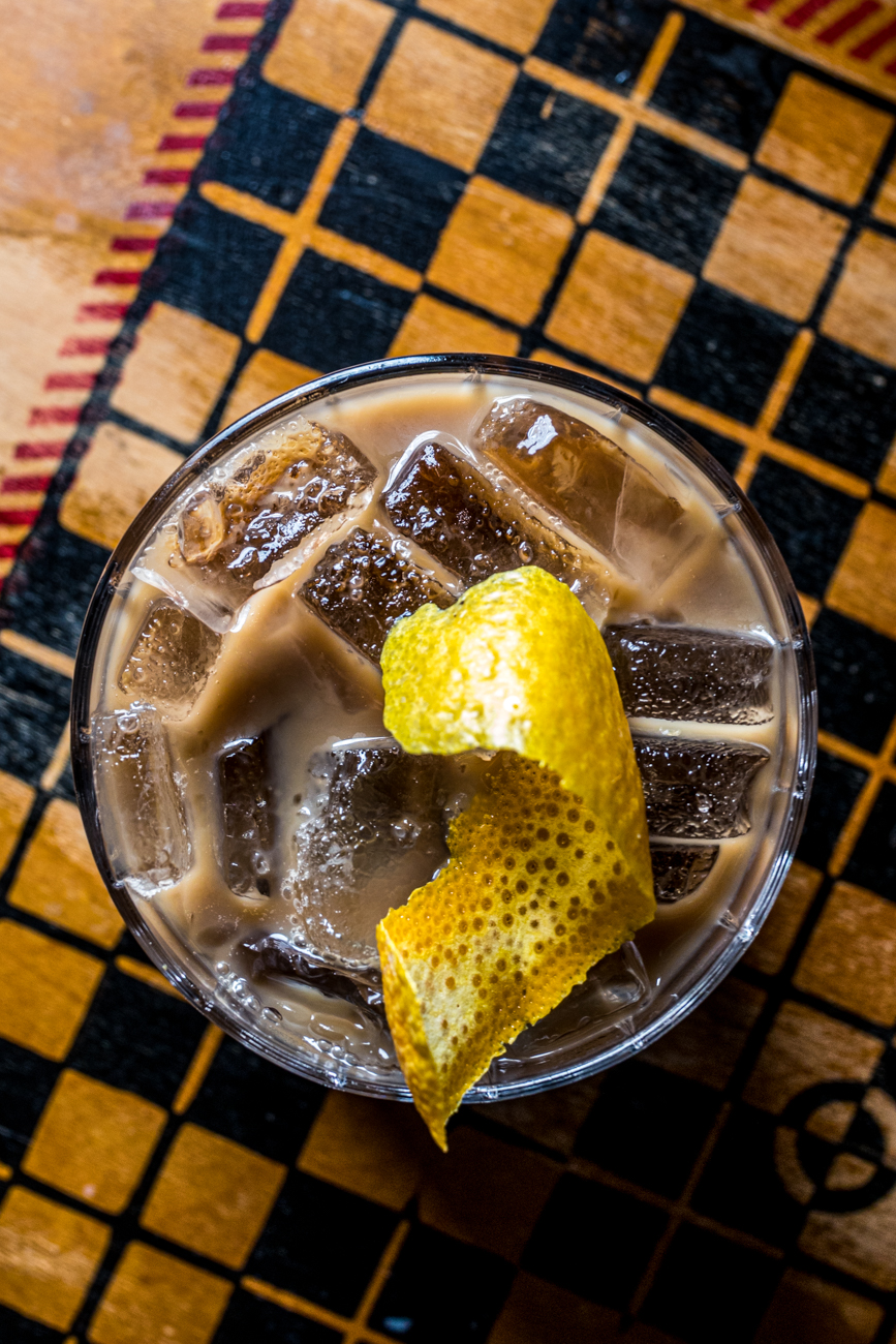Zocalo Cafe: Cantera Negra Coffee tequila, cold pressed coffee, and orange-infused condensed milk / Image: Catherine Viox{ }// Published: 1.23.20