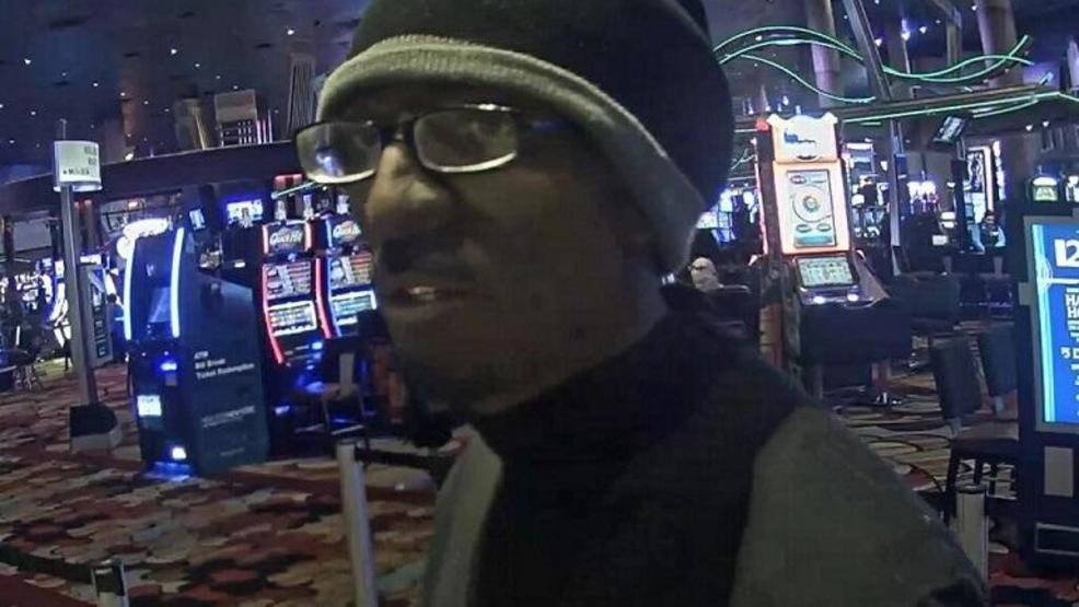 caught on camera man robs new york new york casino cage