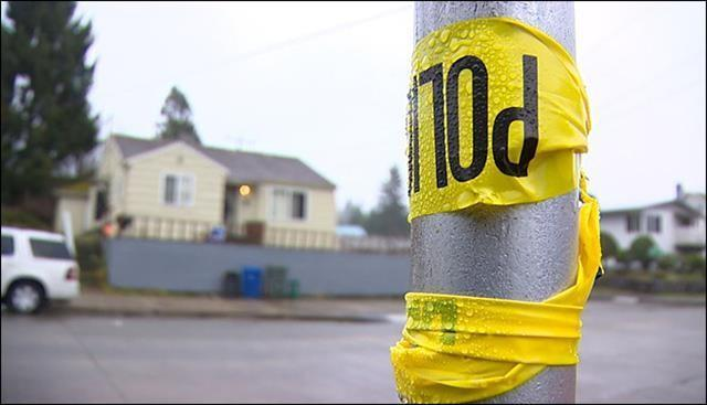 The bullet that hit Alonza was among a volley of gunfire that pierced her family's South Seattle home Saturday night.