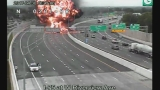 VIDEO: Deadly explosion ignites interstate following crash