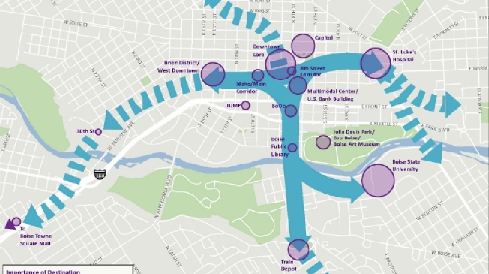 Boise spends big money to map out potential new transit system KBOI