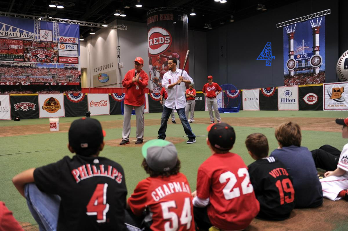 #4 - Redsfest is taking place Dec. 2-3 at the Convention Center. / Image courtesy of the Cincinnati Reds