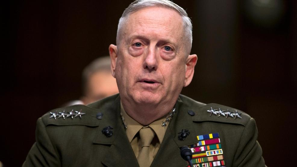 Live secretary of defense james mattis krcg