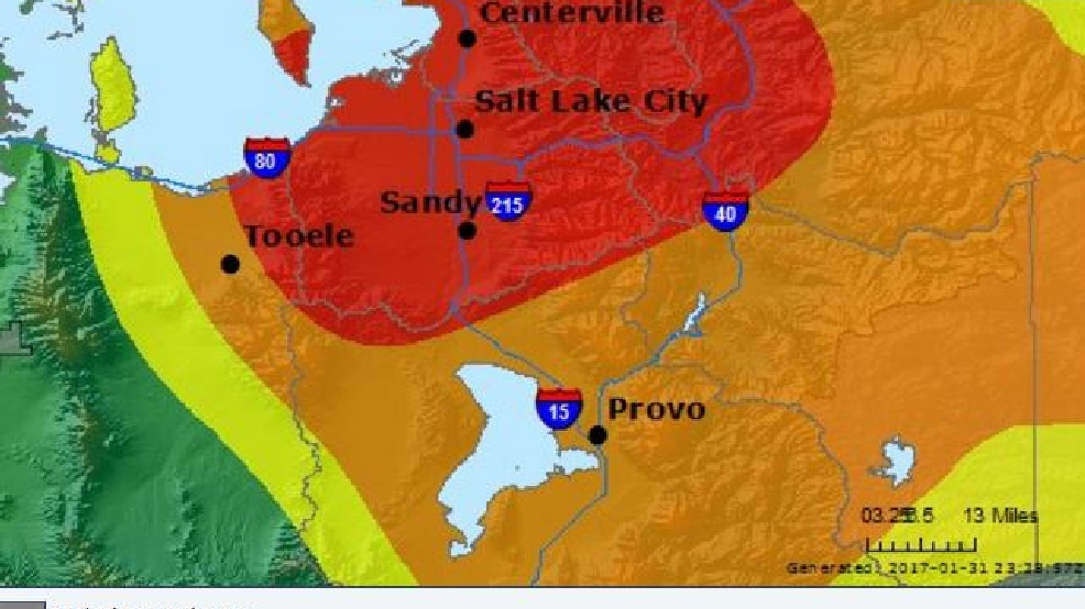 Salt Lake City has the worst air quality in the nation | KUTV