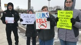 Green Bay area protesters call for tougher gun control legislation