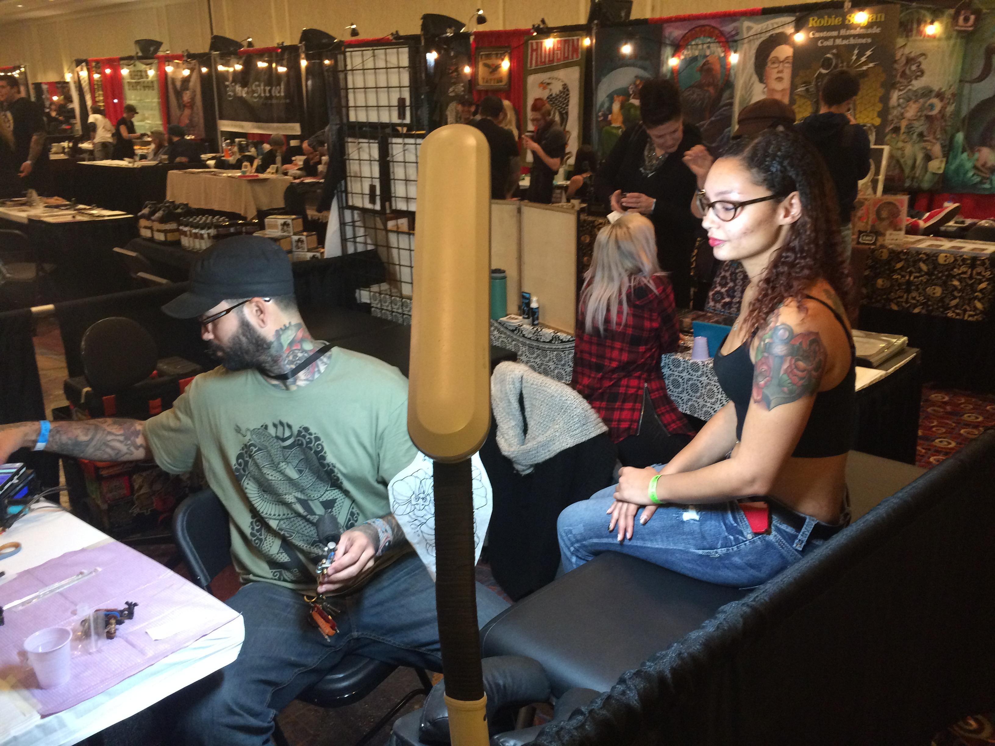 Photo essay: Creative souls find expression through body art at ...