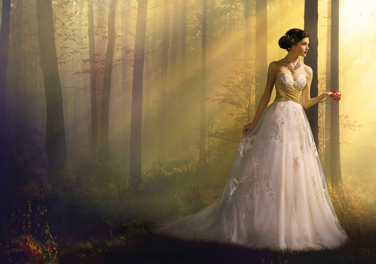 a2164cf597 If you ve even dreamed of looking like a Disney princess on your wedding day