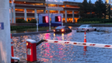 Flooding in Richmond closes airport, traps several drivers