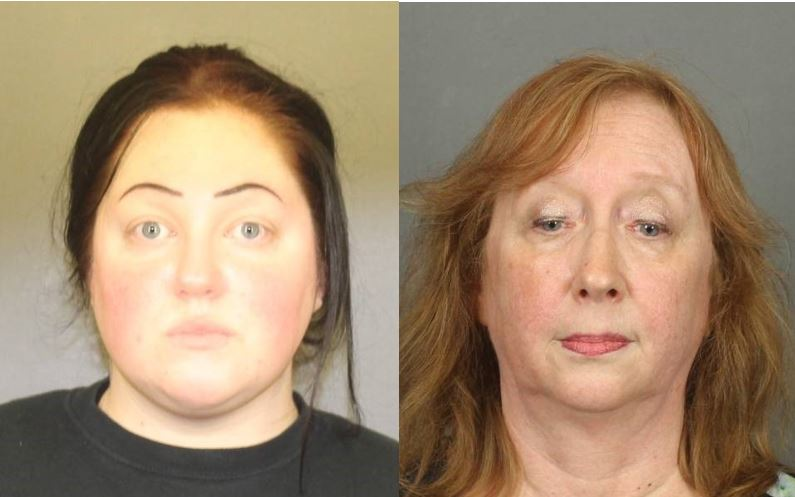 Sarah DiLallo (R) and Sandra Abdo (D) are accused of causing the death of Heather Roselli, a woman who lived in a group home in Webster. (Photos: MCSO)