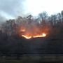 Crews fighting wildfire in Fayette County