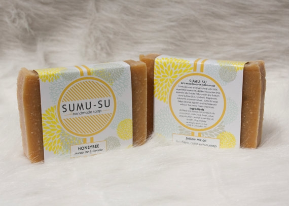 Find honey bee soap and a variety of scents at area Wholefoods.(Image: Courtesy Sumu-su Soap)