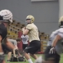 Vandals open spring ball at Kibbie Dome