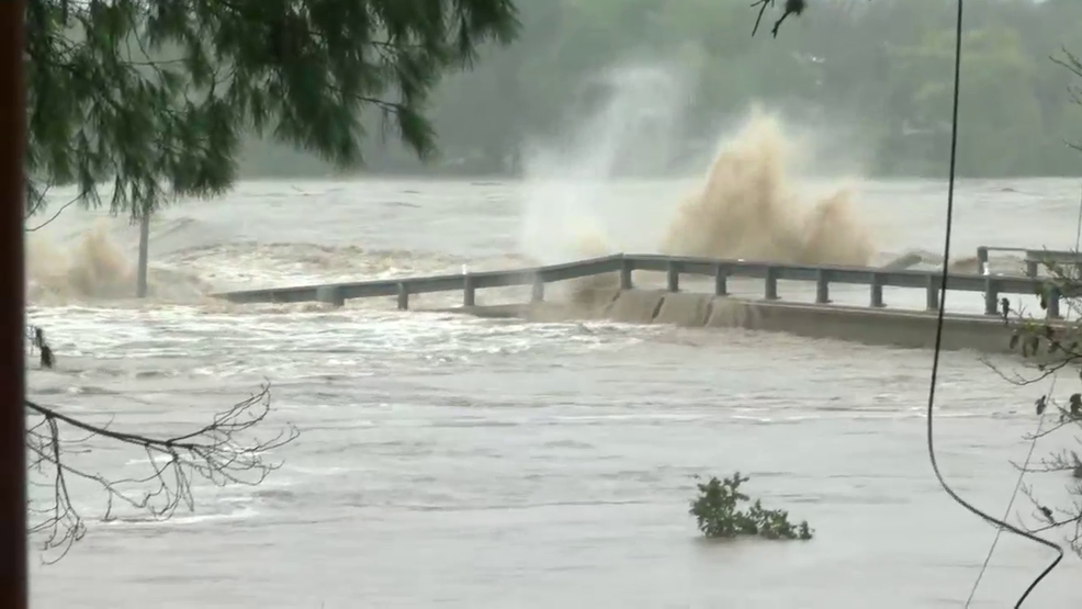 Video Bridge Over Llano River In Kingsland Collapses Due