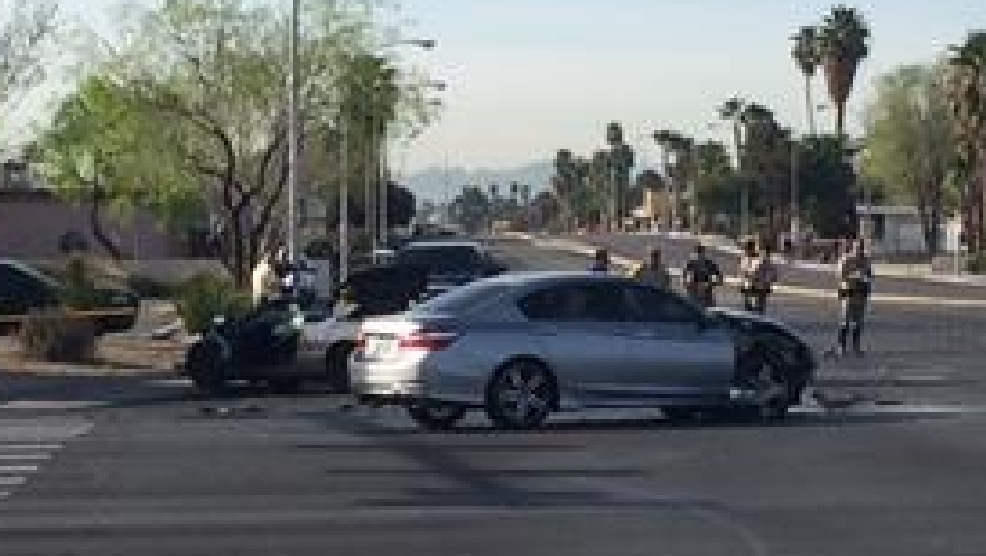 East Desert Inn Drive Car Crash