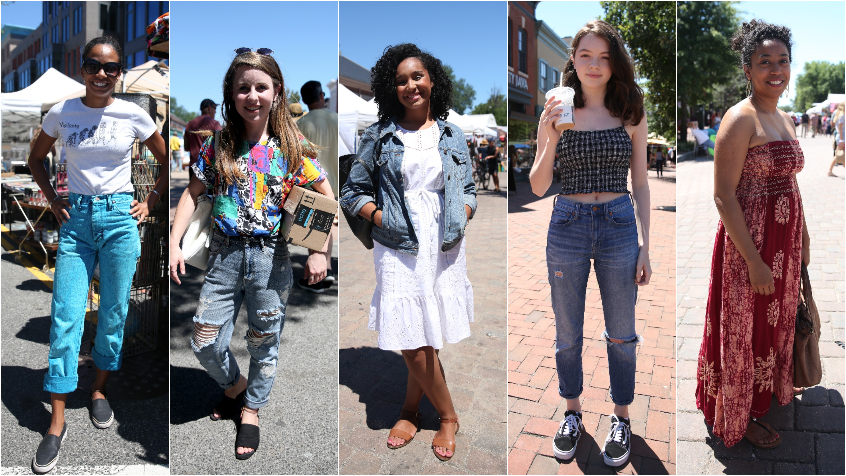 It's tough to look cute during the sweltering D.C. summers, but Washingtonians have it down to a science. Here's our favorite street fashion from July. (Amanda Andrade-Rhoades/DC Refined)
