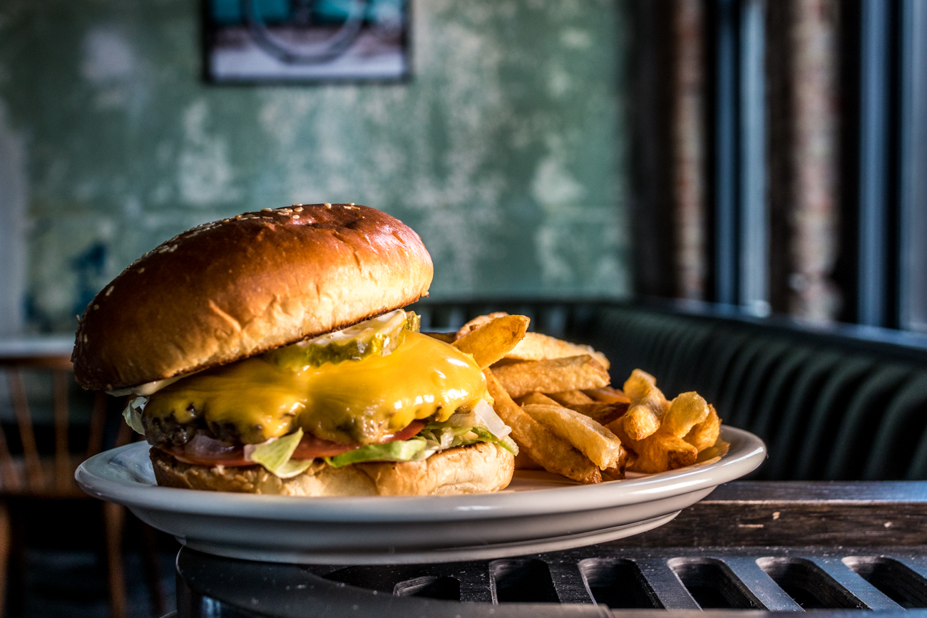 Cheeseburger and fries / Image: Catherine Viox // Published: 6.29.20