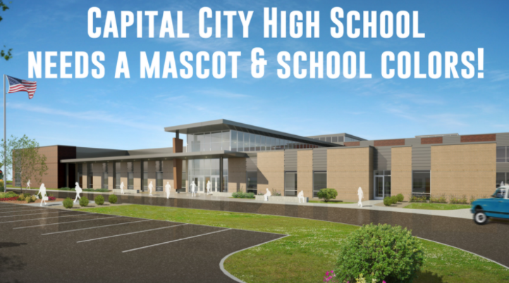 Capital City High School asks community to vote on school's mascot and colors. (Jefferson City Public Schools Facebook)