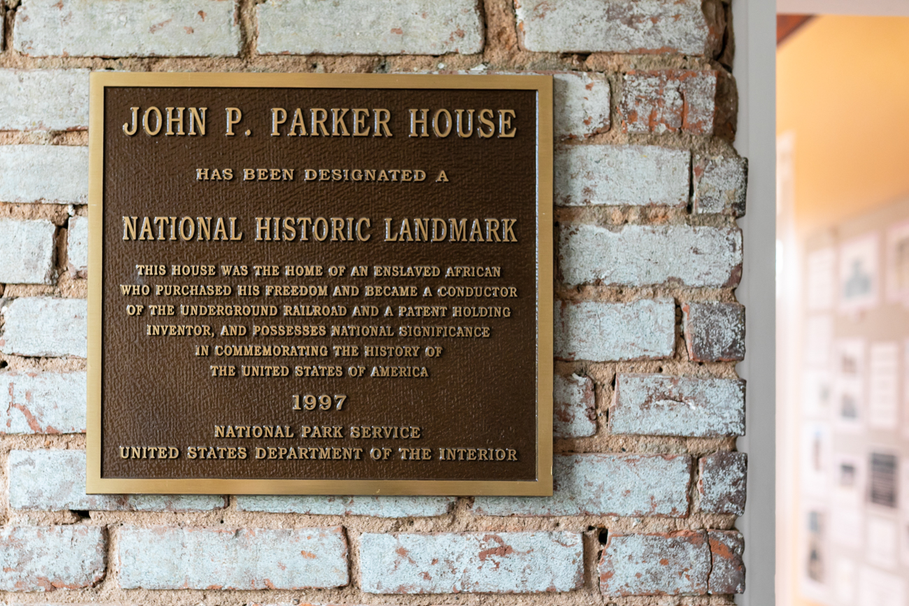 The John P. Parker House is a National Historic Landmark located on Front Street in Ripley, Ohio. Mr. Parker was a former slave who successfully bought his own freedom and later went on to obtain several U.S. patents. And of equal or greater importance, Parker was a key figure in the Underground Railroad as he helped many slaves escape to freedom. ADDRESS: 330 N. Front Street, Ripley, OH (45167) / Image: Amy Elisabeth Spasoff // Published: 8.9.18