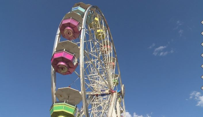 The Ferris wheel spins at the Tri-State Fair. (KVII, Niccole Caan)