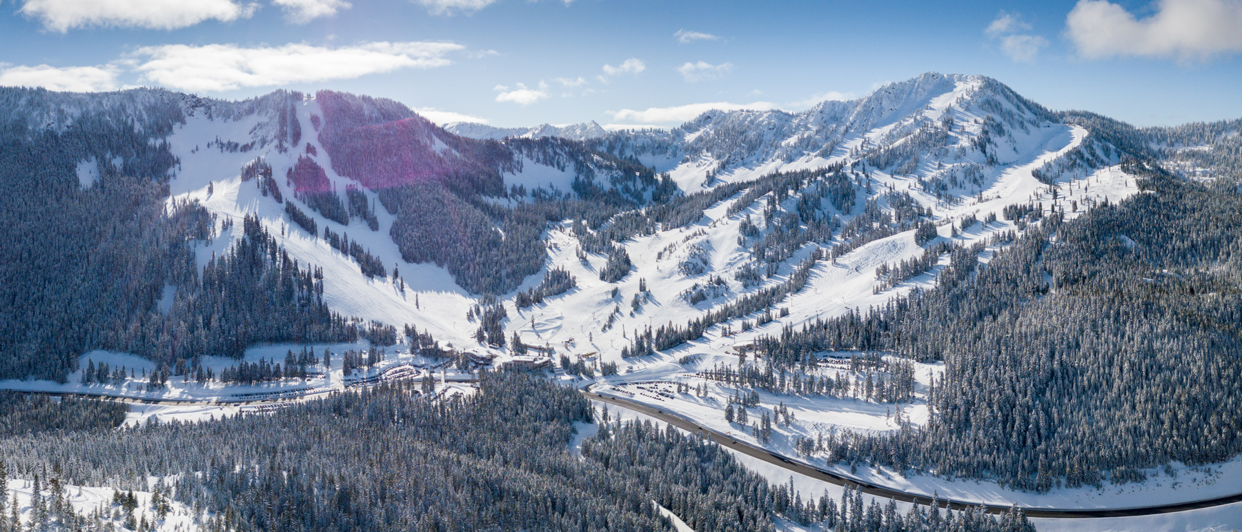 For Stevens Pass visitors looking to save, you'll want to plan in advance and purchase your tickets at least 7 days prior to your trip for the lowest price guaranteed.  (Image: Stevens Pass, Vail Resorts)