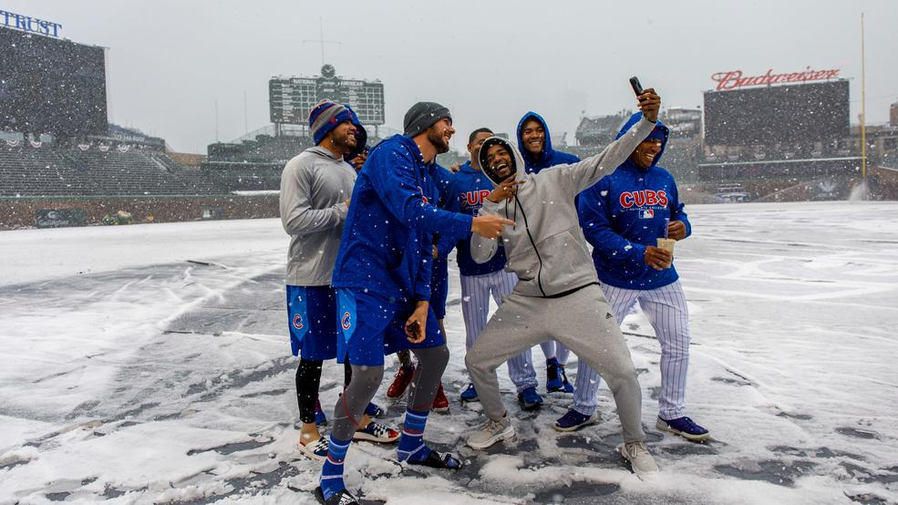 Play Ball? Not this April. Baseball suffers 25th weather-related postponement