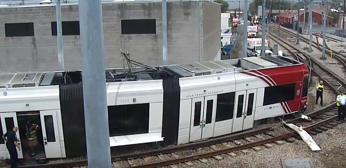 Controls protect Frontrunner trains, Trax depends on operators to manage curves (Photo: KUTV)