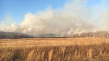 Large grass fire in Weleetka spanned miles to Wetumka Friday
