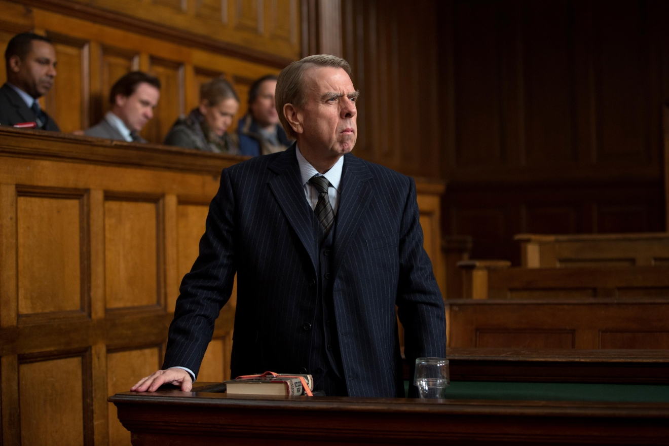 "Timothy Spall stars as Holocaust denier David Irving in ""Denial."" Credit: Laurie Sparham  / Bleecker Street"