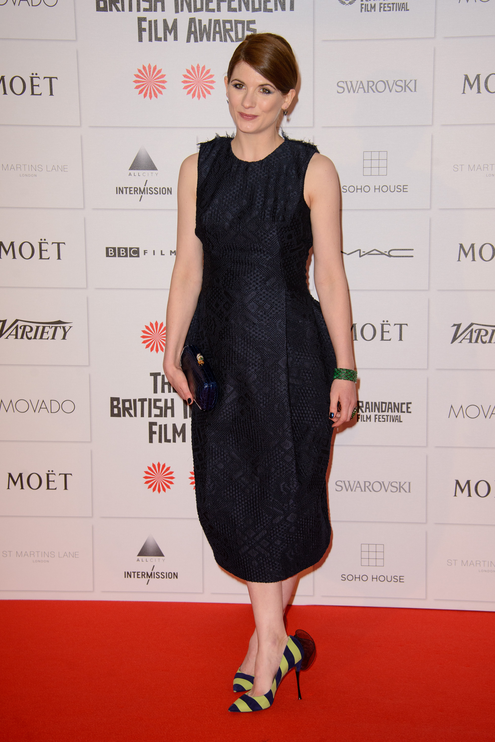Moet British Independent Film Awards held at Old Billingsgate - Arrivals                                                                      Featuring: Jodie Whittaker                                   Where: London, United Kingdom                                   When: 07 Dec 2014                                   Credit: WENN.com                                                                      *****please credit Joe/WENN*****