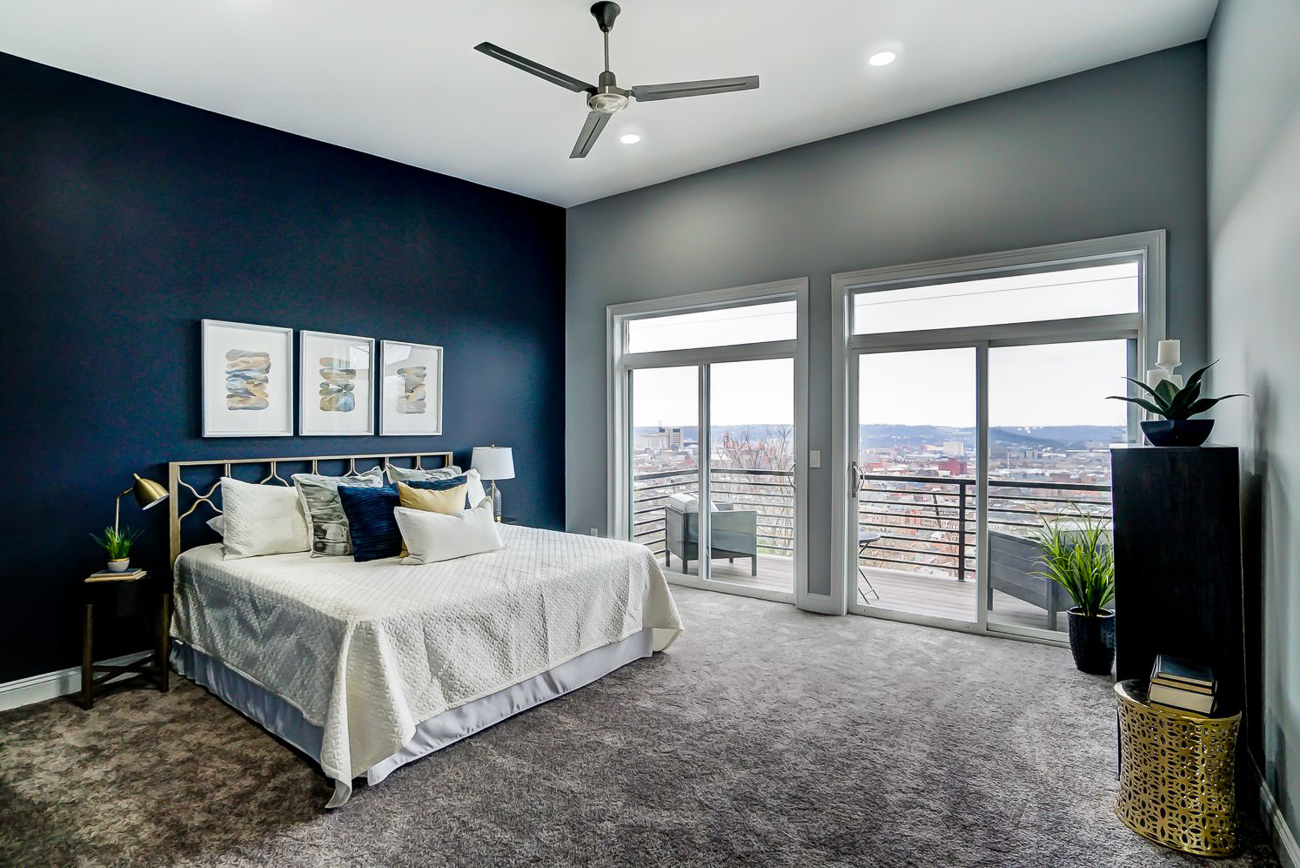 The view from 136 Dorsey Street is breathtaking. The owner of this house will be able to see sunrises, sunsets, and everything in-between from the comfort of their bedroom and personal second-floor balcony. / Image courtesy of Kelly Gibbs, Coldwell Banker // Published: 12.28.18