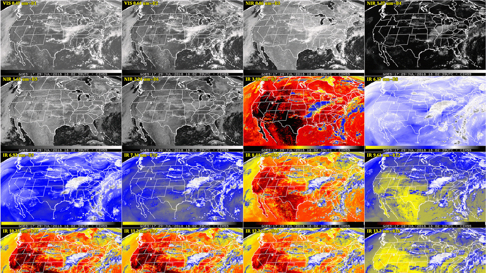 NOAA releases first infrared pictures from new GOES-17 weather satellite