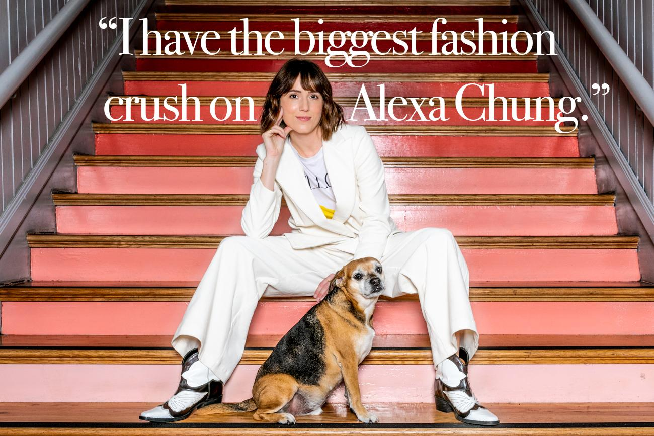 "Cincy Refined: Is there a celebrity whose closet you would love to raid? Why? Laura Hughes: ""I have the biggest fashion crush on Alexa Chung. Everything she wears is cool, funky, and different."" / Image: Amy Elisabeth Spasoff // Published: 10.17.18"