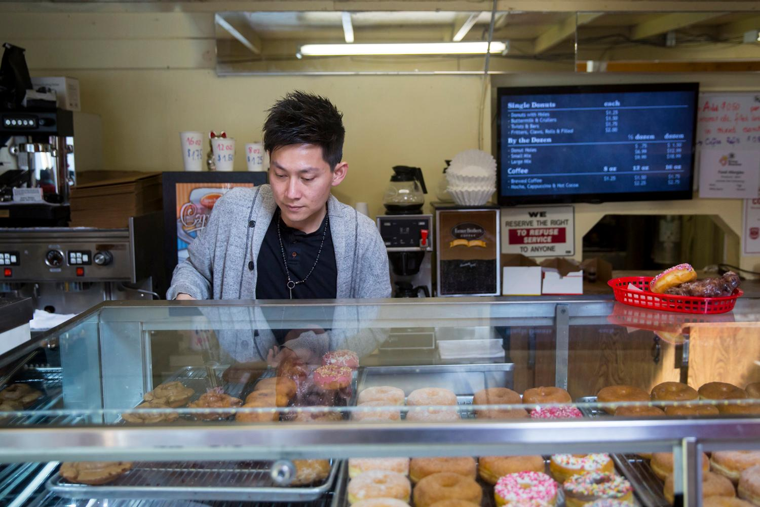 The King Donuts legacy of laundromat/donut-joint/teriyaki place lives on in Rainier Beach with new owners who have only made slight modifications to the menu (like adding Pad Thai). If you aren't familiar with the place - it's a quirky-Seattle Gem. While some were frightful things would change when the business sold in December 2016, the new Chhuor family owners plan to keep things the way they've been. (Sy Bean / Seattle Refined)